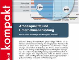 Kompakt 2/2015 - Arbeitsqualität und Unternehmensbindung